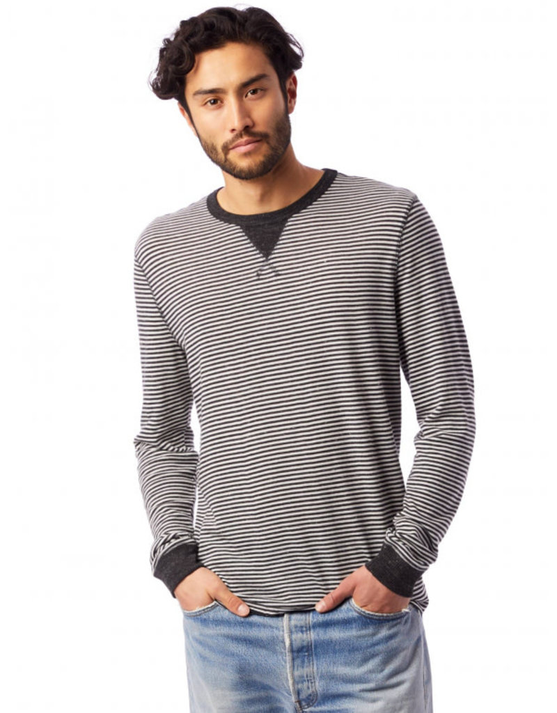 Alternative Apparel Long Sleeve Eco Cuffed Tee