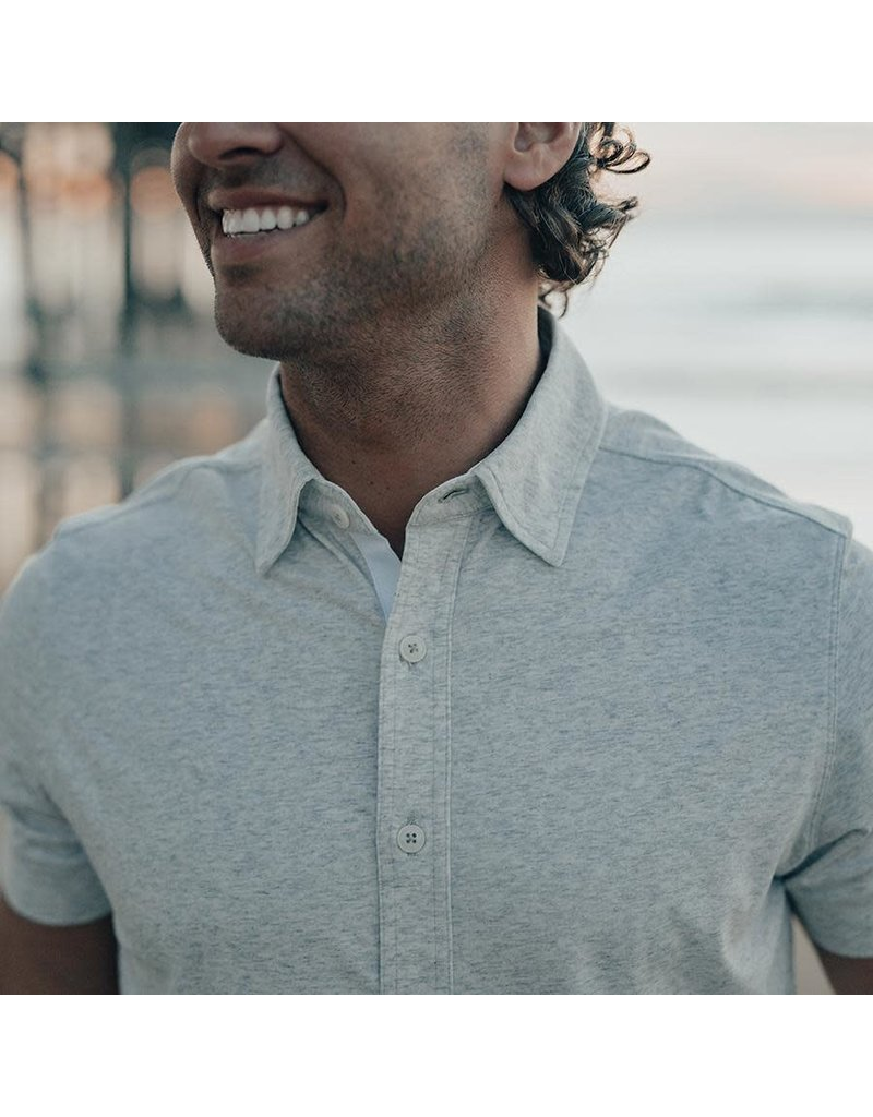 The Normal Brand Puremeso Short Sleeve Button Down