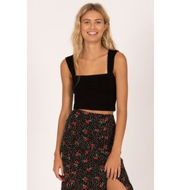 Amuse Society Easy Love Crop Top