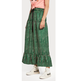 Scotch & Soda Palm Cove Printed Maxi Skirt