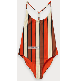 Scotch & Soda Sun-N-Sand Striped Swimsuit