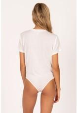 Amuse Society Bright Sky Short Sleeve Bodysuit
