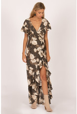 Amuse Society Frill Seeker Maxi Dress