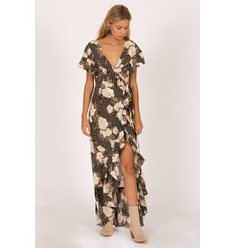 Amuse Society Frill Seeker Maxi Dress