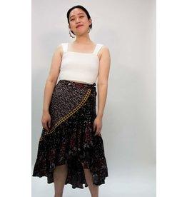 Free People Esmeralda Printed Skirt