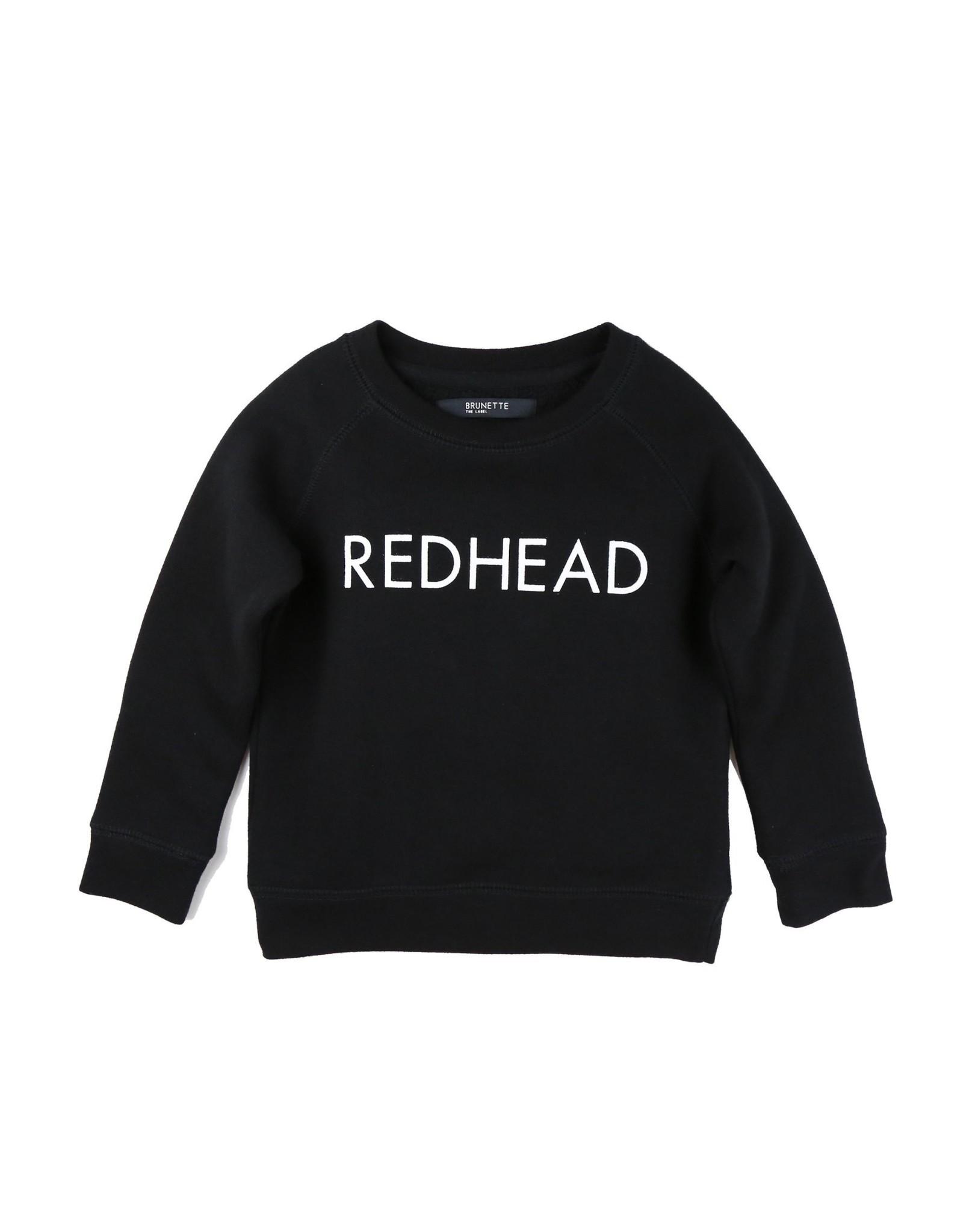 Brunette Kids Redhead Crew