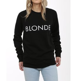 Brunette Blonde Black Crewneck