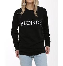 Brunette Blonde Black Crewneck