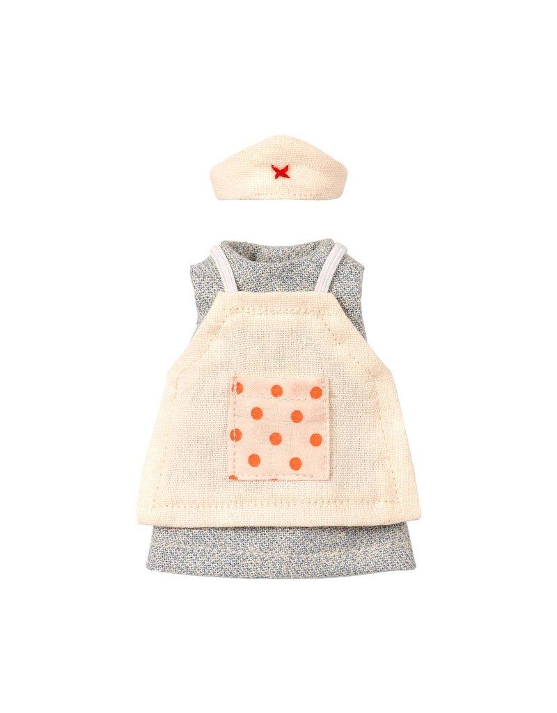 Maileg Nurse Clothes For Mouse