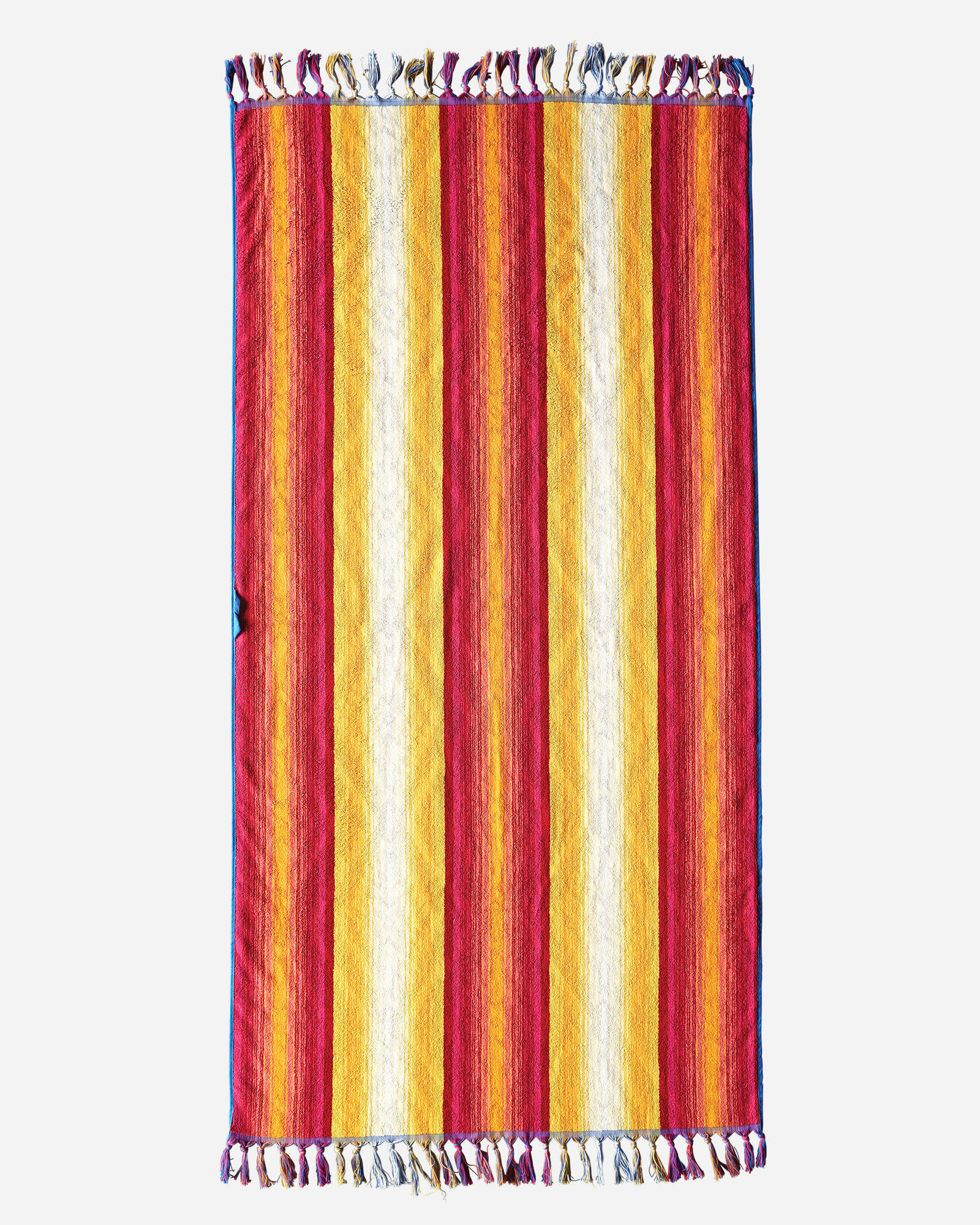 Pendleton Fuchsia Sculpted Fringe Spa Towel