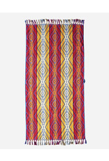 Pendleton Fuchsia Sculpted Fringe Spa Towel