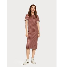 Scotch & Soda Retro Terry Stripe Dress
