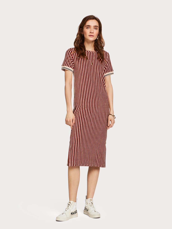 Scotch & Soda Retro Terry Stripe Dress