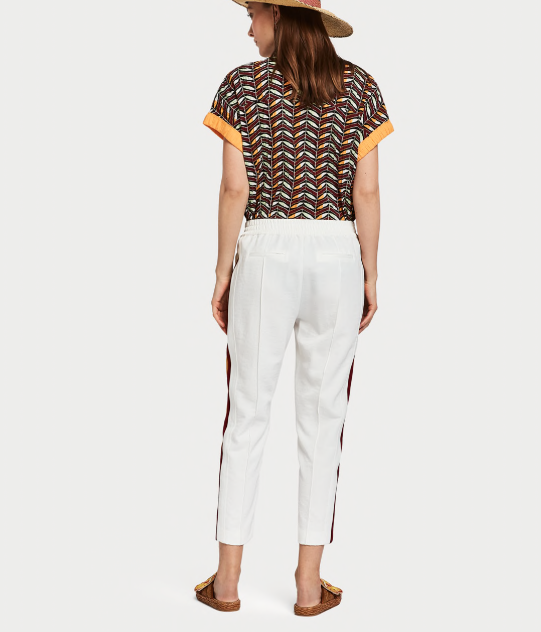 Scotch & Soda Contrast Panel Trousers