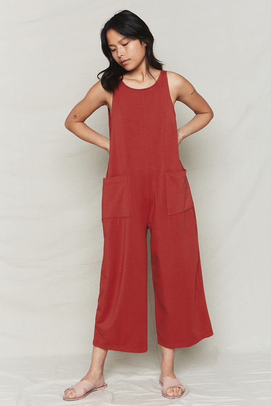 Back Beat Rags Organic Cotton Everyday Jumpsuit