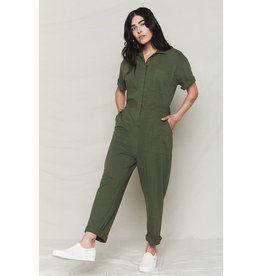 Back Beat Rags Hemp Boiler Suit