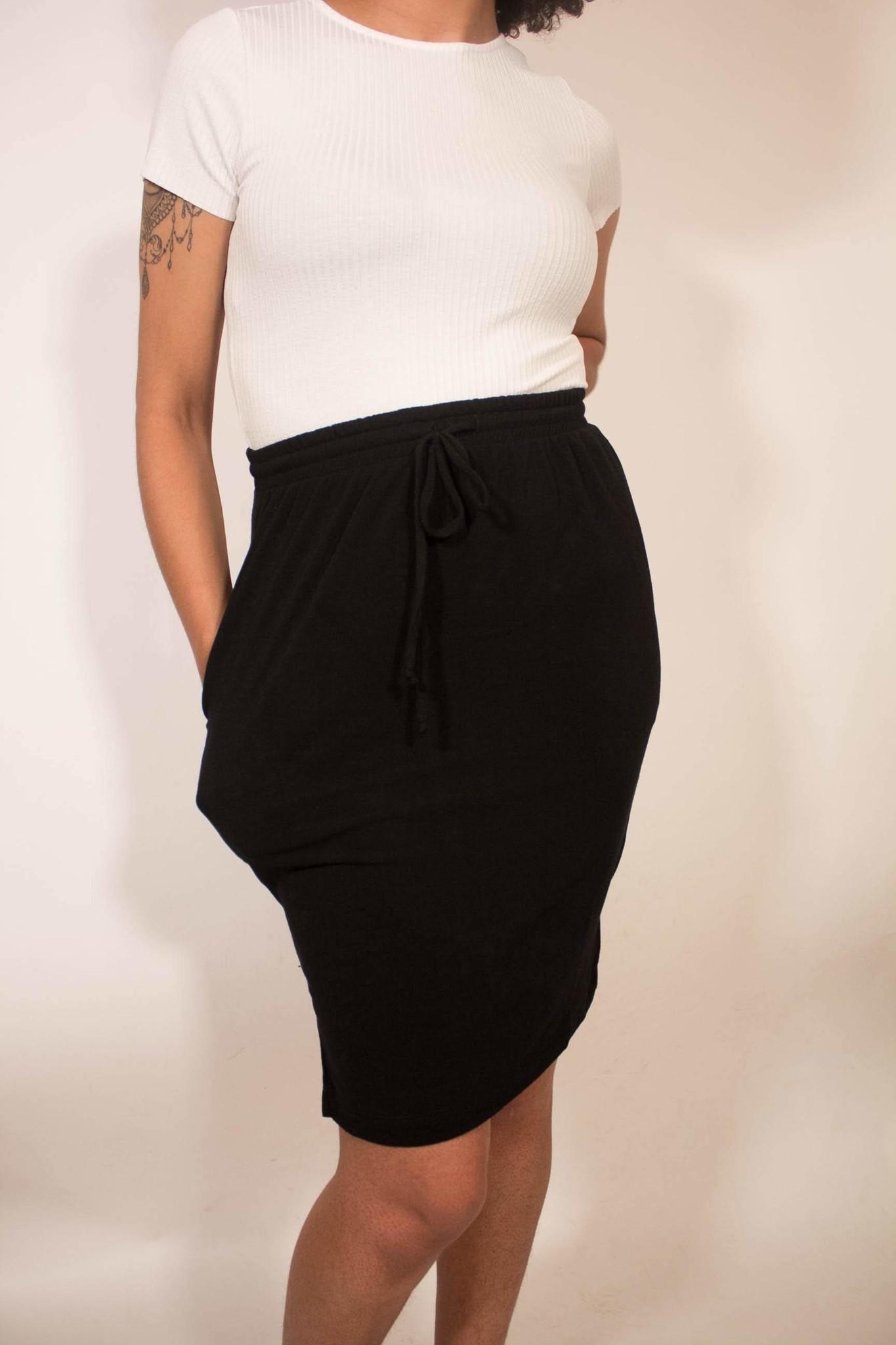 Comune Chelsea Drawstring Skirt