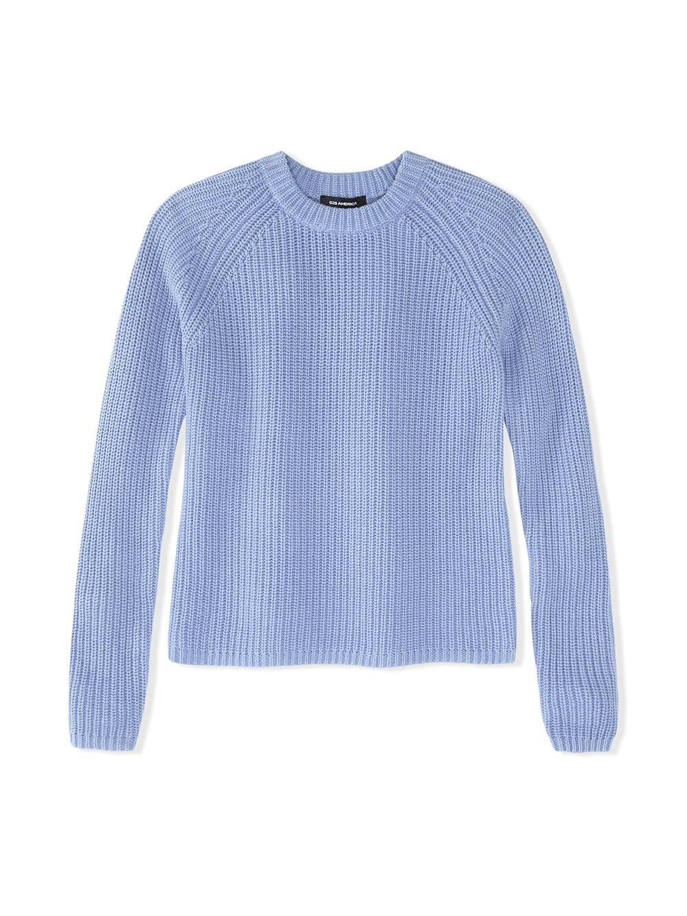 525 America Chalk Blue Shaker Pullover Sweater