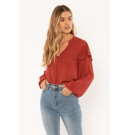 Amuse Society Lana Blouse
