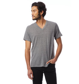 Alternative Apparel Grey Boss V-Neck Tee