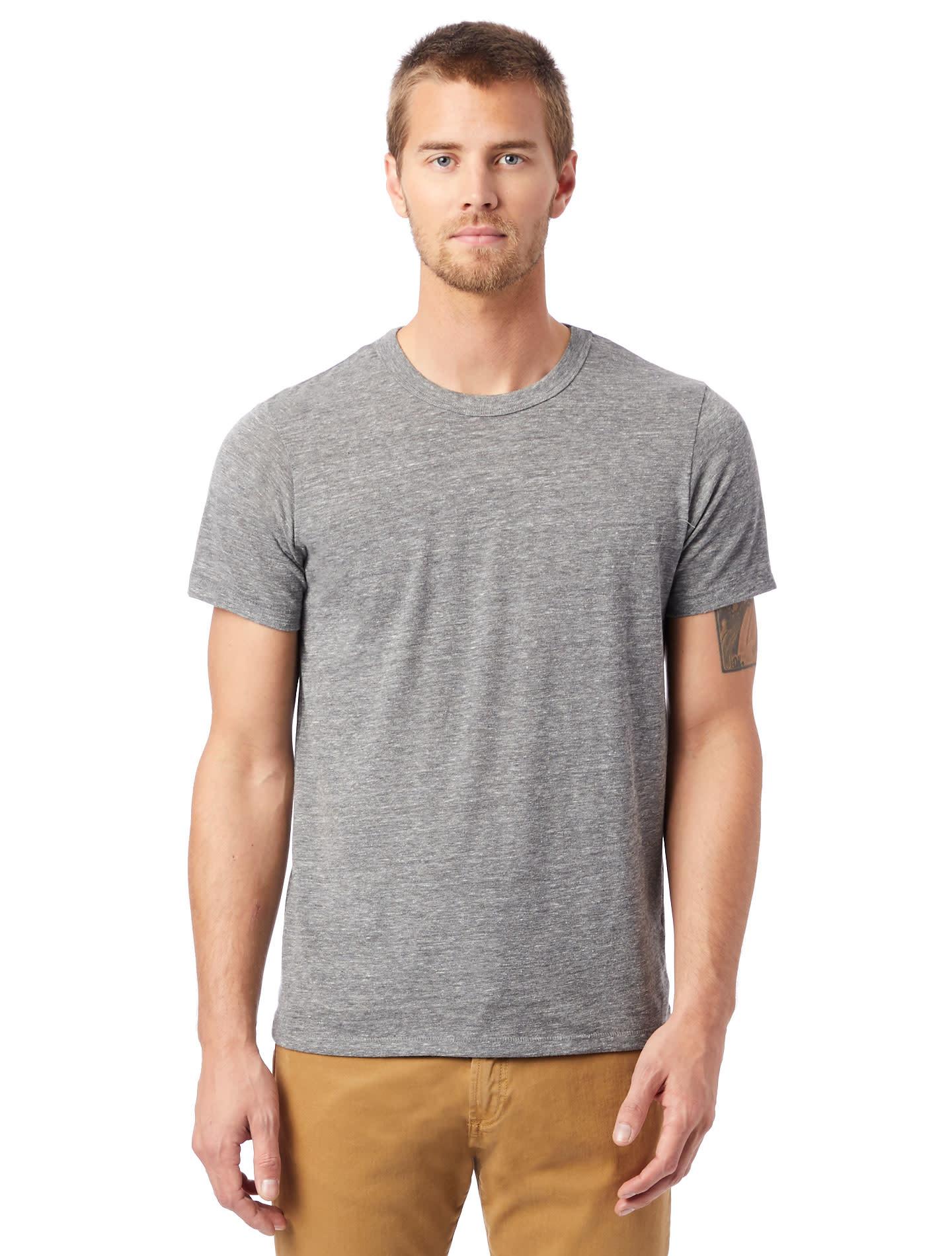 Alternative Apparel Light Grey Eco Crew T-Shirt