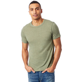 Alternative Apparel Army Green Eco Crew T-Shirt