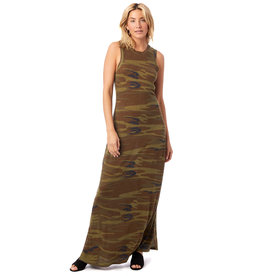Alternative Apparel Eco Camo Maxi Dress
