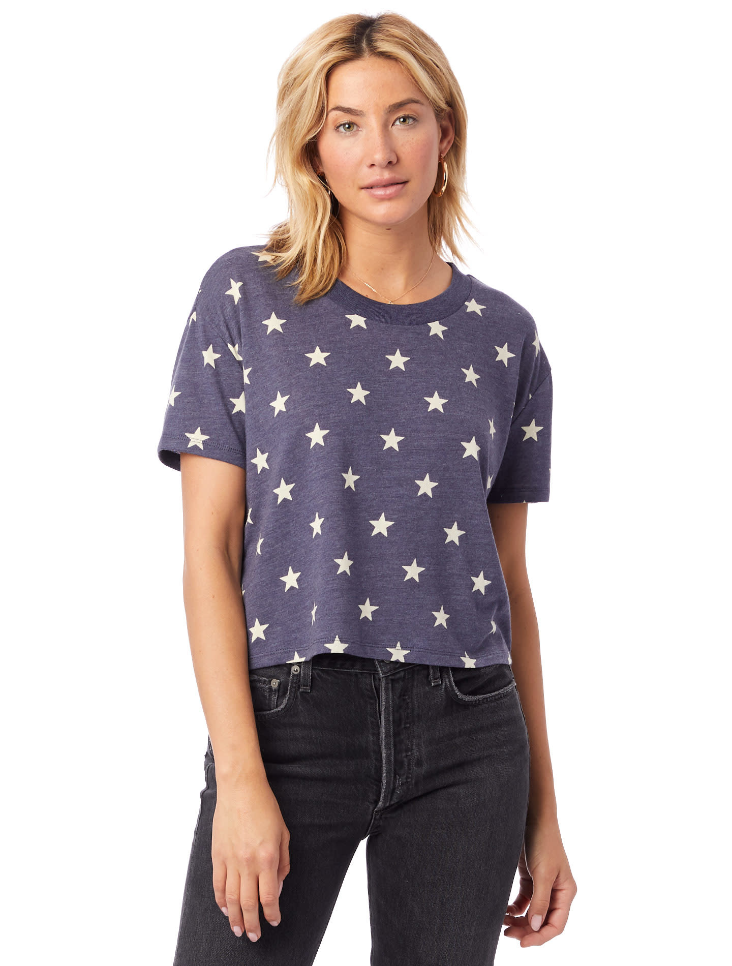Alternative Apparel Eco Stars Cropped Tee