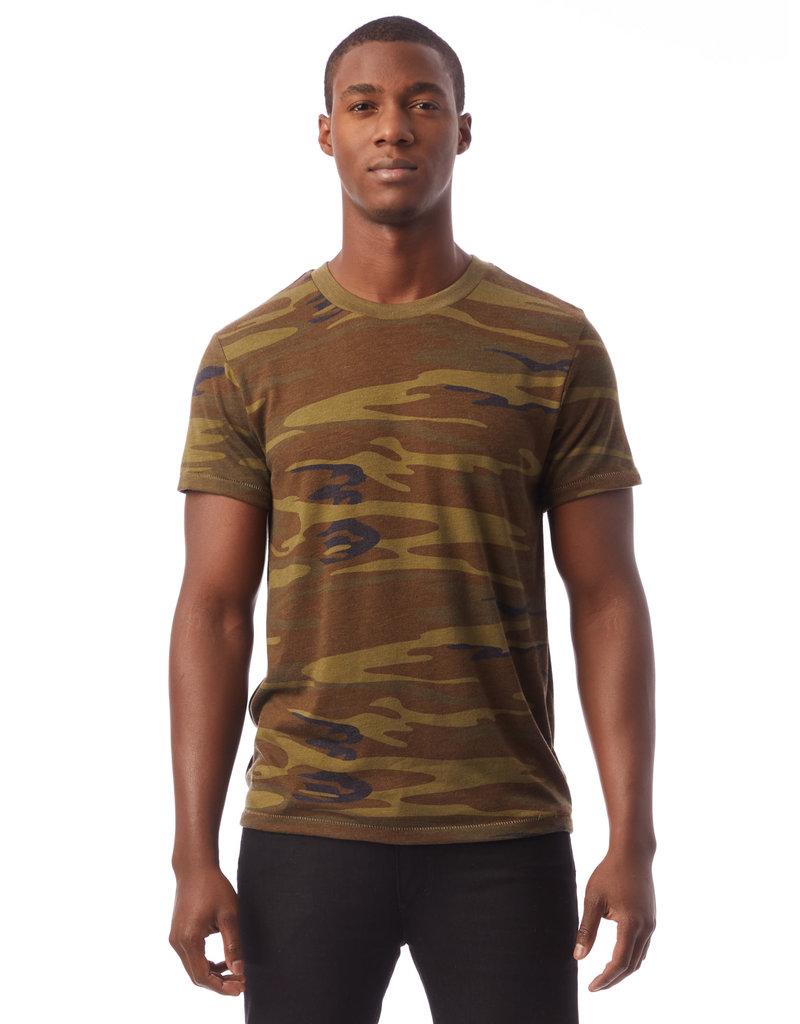 Alternative Apparel Eco Camo Crew T-Shirt