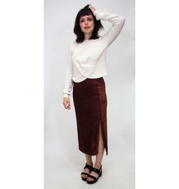 Free People Hellen Rib Skirt