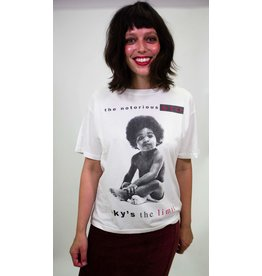 Daydreamer Notorious BIG Tee-Vintage White