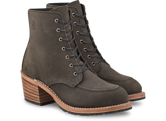 Redwing Heritage Clara Pewter Acampo Leather