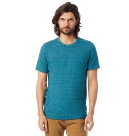 Alternative Apparel True Alpine Teal Eco Crew T-Shirt