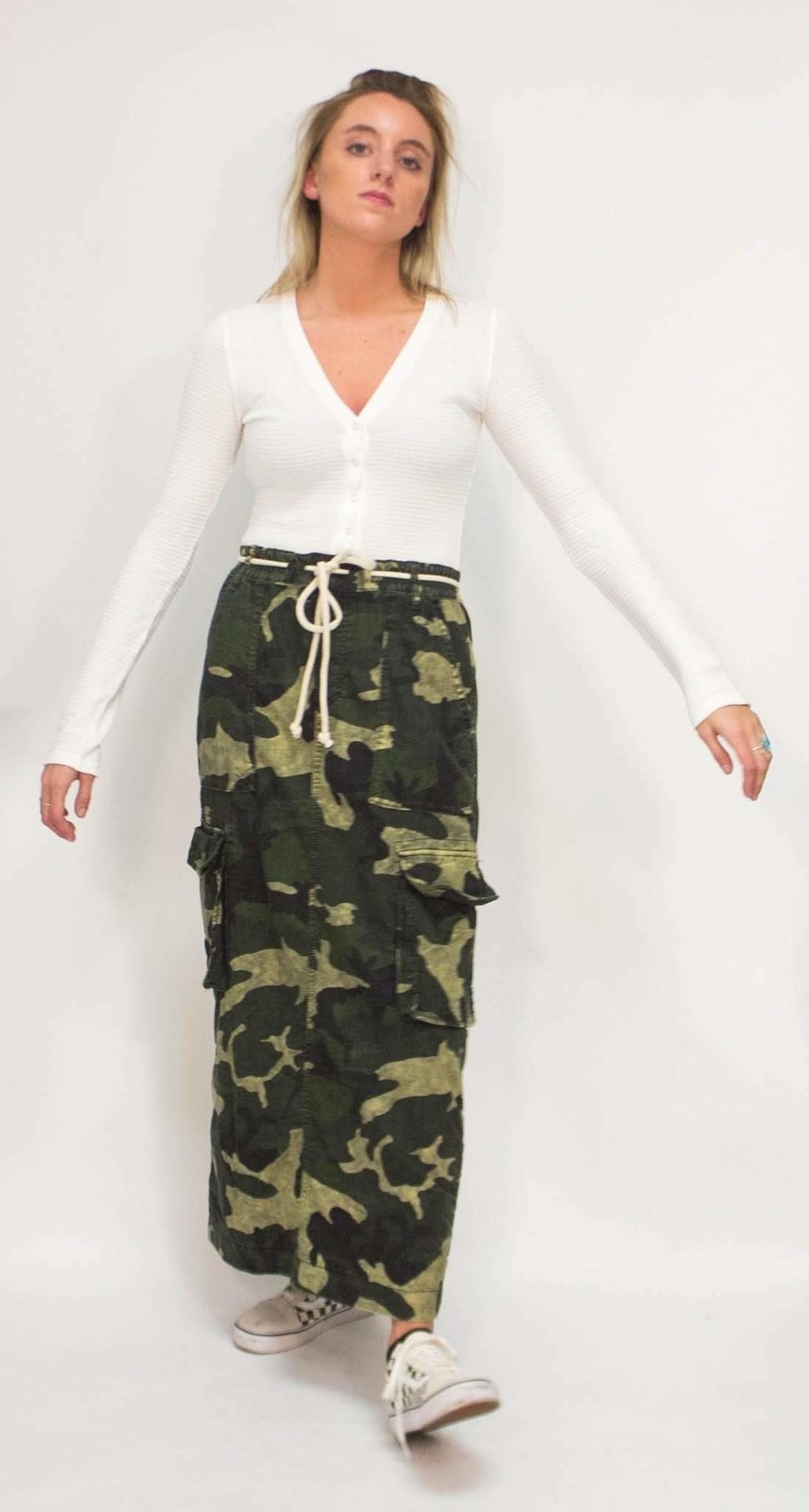 Free People Let Me In Skirt