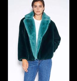 Apparais Kendall Emerald and Sapphire Faux Fur