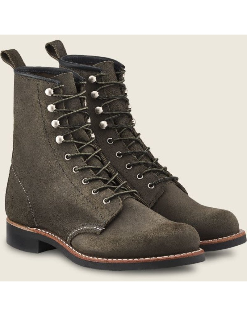Redwing Heritage Silversmith Pewter Acampo Leather #3360