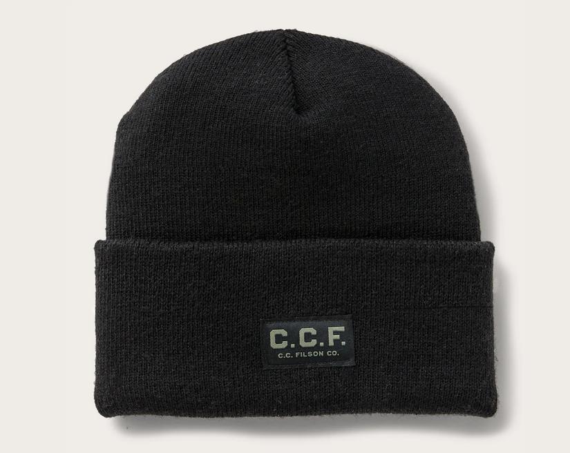 Filson CCF Watch Cap Black