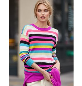 525 America Stripe Cashmere Sweater