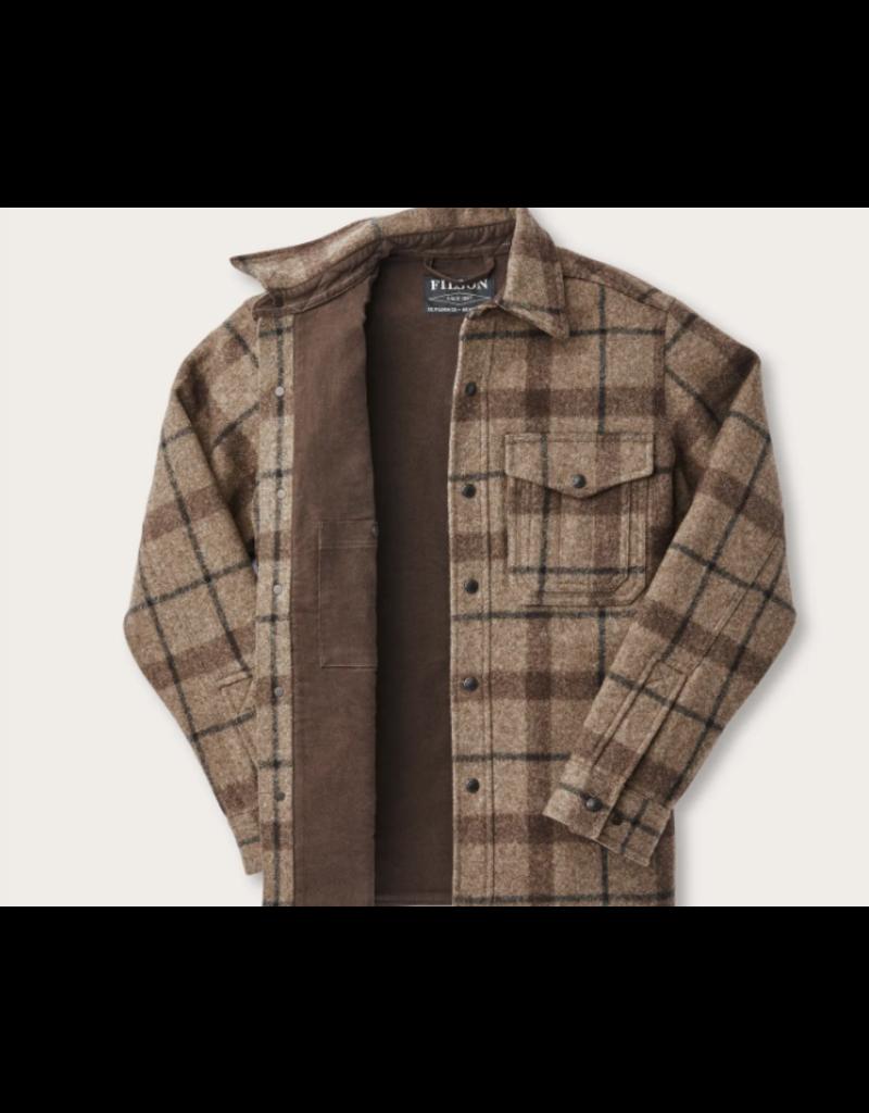Filson Mackinaw Taupe Plaid Jac- Shirt