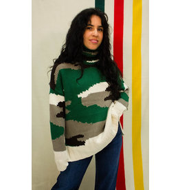 525 America Camo Turtle Neck Sweater