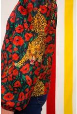 Saccharine Off The Shoulder Cheetah Blouse