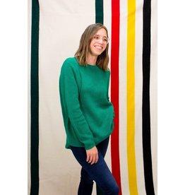 525 America Jade Emma Shaker Sweater