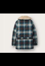 Filson Women's Plaid Wool Trapper Coat