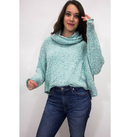 Free People BFF Blue Sweater