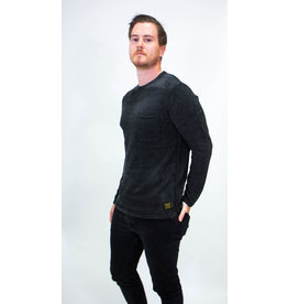 Scotch & Soda Chenille Crewneck Chestpocket Sweater