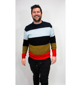 Scotch & Soda Block Stripe Sweater