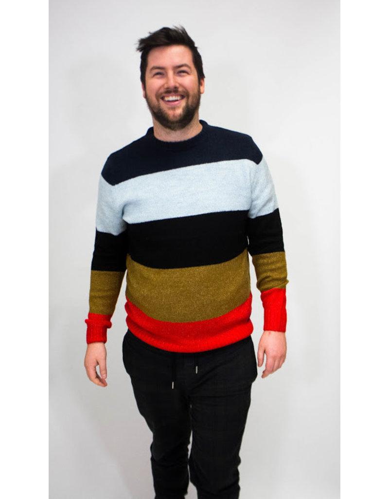 Scotch & Soda Block Stripe Sweater