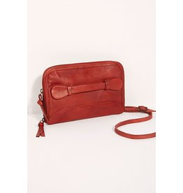 Free People Traveler Wallet Red