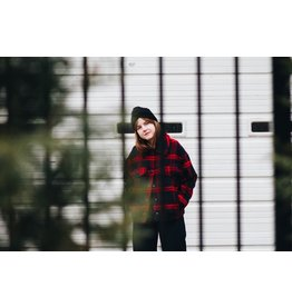 FRNCH Woven Red Coat