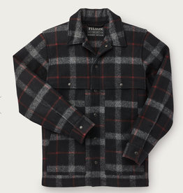 Filson Plaid Unlined Wool Cape Coat
